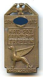 NSDAP - Nat.-Soz. Grenzlandtreffen Sept. 1933 Karlsruhe