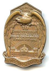 Reichsbanner - 10 Jahre Volksstaat Verfassungsfeier des Reichsbanners Schwarz-Rot-Gold Berlin 1929