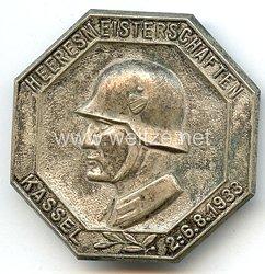 III. Reich - Heeresmeisterschaften Kassel 2.-6.8.1933