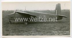 England 2. Weltkrieg Pressefoto: General Aircraft TX 3/43 Glider Prototype April 1944