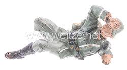 Lineol - Heer Soldat Kolbenschlag-Abwehr liegend