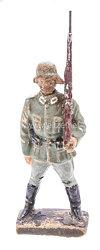 Lineol - Heer Soldat auf Ehrenwache stehend