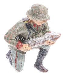 Elastolin - Heer Kanonier mit Granate kniend