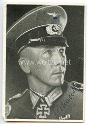 Heer - Originalunterschrift von Ritterkreuzträger Oberfeldwebel Wilhelm Vielwerth