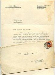 III. Reich - Originalunterschrift von Emil Stürtz, Gauleiter der Mark Brandenburg