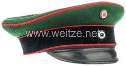 Preußen Schirmmütze für einen Unteroffizier im Garde-Schützen-Bataillon