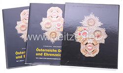 Fachliteratur - Österreichs Orden und Ehrenzeichen - Die kaiserlich-königlichen Orden bis 1918