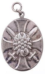 Bayern 1. Weltkrieg Erinnerungsmedaille des Bayerischen Infanterie-Leib-Regiments für die österreichischen Waffenbrüder