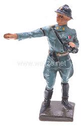 Lineol - Frankreich Offizier mit Fernglas zeigend