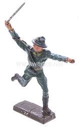 Lineol - Frankreich Sturmoffizier mit gezogenem Säbel