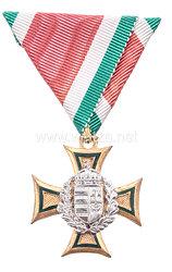 Königreich Ungarn Dienstauszeichnung für Offiziere