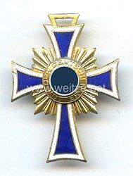 Ehrenkreuz der Deutschen Mutter in Gold in Sonderanfertigung als Brosche