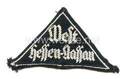 Bund Deutscher Mädel (BDM) Gebietsdreieck