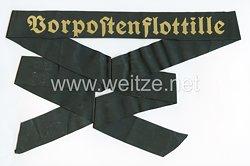 """Kriegsmarine Mützenband """"Vorpostenflotille"""""""