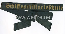 """Mützenband """"Schiffsartillerieschule"""""""