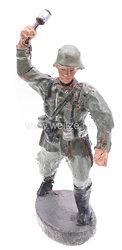 Elastolin - Heer Soldat Handgranate werfend