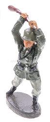"""Elastolin - Heer Soldat mit Gewehr zuschlagend """" Kolbenschläger """""""