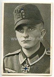 Heer - Originalunterschrift von Ritterkreuzträger Oberfeldwebel Josef Schreiber