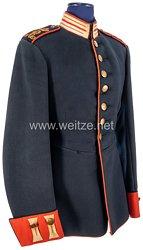 Sachsen Waffenrock für einen Einjährig-Freiwilligen im Königlich Sächsischen Leib-Grenadier-Regiment Nr. 100, 3. Kompanie