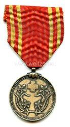 Japan, besetztes Mandschukuo,Rot Kreuz Medaille