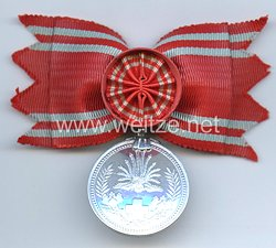 Japan, Rot Kreuz Medaille für besondere Mitglieder für Frauen
