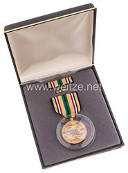 USA - South West Asia Service Medal in Case with Lapel Pin and Ribbon Bar