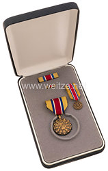 USA Army Reserve Achievement Medalin Case with Miniature, Lapel Pin and Ribbon Bar