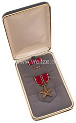 USA - Bronze Star Medal in Case with Lapel Pin and Ribbon Bar