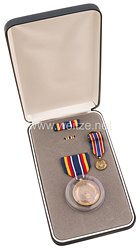 USA - War on Terrosim Service Medal in Case with Minature, Lapel Pin and Ribbon Bar
