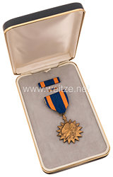 USA - Air Medal in Case with Lapel Pin and Ribbon Bar