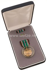 USA - European, African, Middle Eastern Campaign Medal with Lapel Pin and Ribbon Bar (2 Battle Stas)
