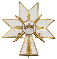 Kroatien Orden der Krone von König Zvonimir: Steckkreuz 2. Klasse mit Schwertern