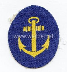 Kriegsmarine Abzeichen für den Sportanzug für Unteroffiziere