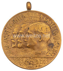 Königreich Rumänien - Pelesch Medaille, 1933