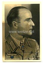 Wehrmacht Originalunterschrift von Ritterkreuzträger Hauptmann Fritz Fessmann