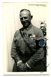 III. Reich - Originalunterschrift eine SA-Scharführers