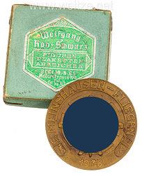 "DLV/NSFK Goldene Sieger-Medaille ""Meinshausen-Fliegen der Berliner Schuljugend Berlin 1938"""