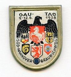 III. Reich - Gautag 9.-12.6.1938 Süd-Hannover - Braunschweig