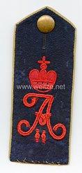 Preußen Einzel Schulterklappe für den Mantel für Mannschaften imUlanen-Regiment Kaiser Alexander II. von Rußland (1. Brandenburgisches) Nr. 3