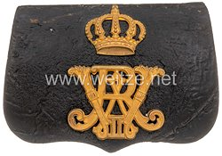 Preußen Kartuschkasten für Offiziere im Königs-Ulanen-Regiment Nr. 13
