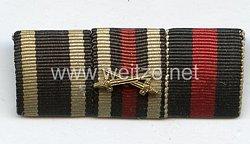 Bandspange eines lippischen Veteranendes 1. Weltkriegs und Wehrmachts-Angehörigen