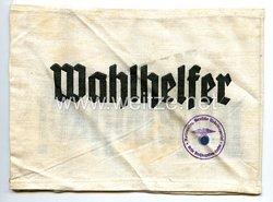 III. Reich Armbinde Wahlhelfer und Hilfspolizei (HiPo)