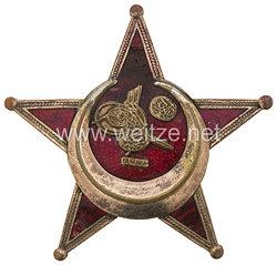 Osmanisches Reich Eiserner Halbmond - Stern von Gallipoli 1915