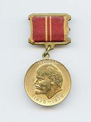Sowjetunion Jubiläum Medaille: 100-Jährige Lenin Geburtstag