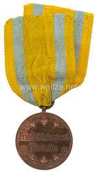 Sachsen Königreich Friedrich August Medaille in Bronze