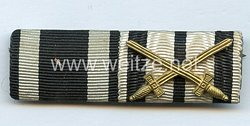 Wehrmacht Bandspange eines Offiziers 1. Weltkrieg