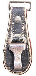 Wehrmacht Luftwaffe (WL) birnenförmiger Hänger für das Offiziersschwert .