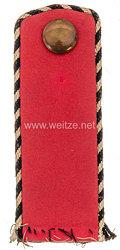 Preußen Einzel Schulterklappe für einen Einjährig Freiwilligen im Westfälischen Dragoner-Regiment Nr. 7