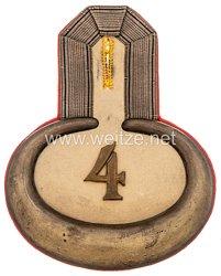 Preußen Einzel Epaulette für einen Leutnant im Dragoner-Regiment von Bredow (1. Schlesisches) Nr. 4