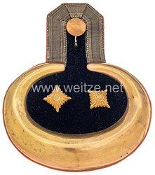 Preußen Einzel Epaulette für einen Rittmeister der Landwehr Kavallerie aus der Zeit des Deutsch/Französischen Krieges 1870/71